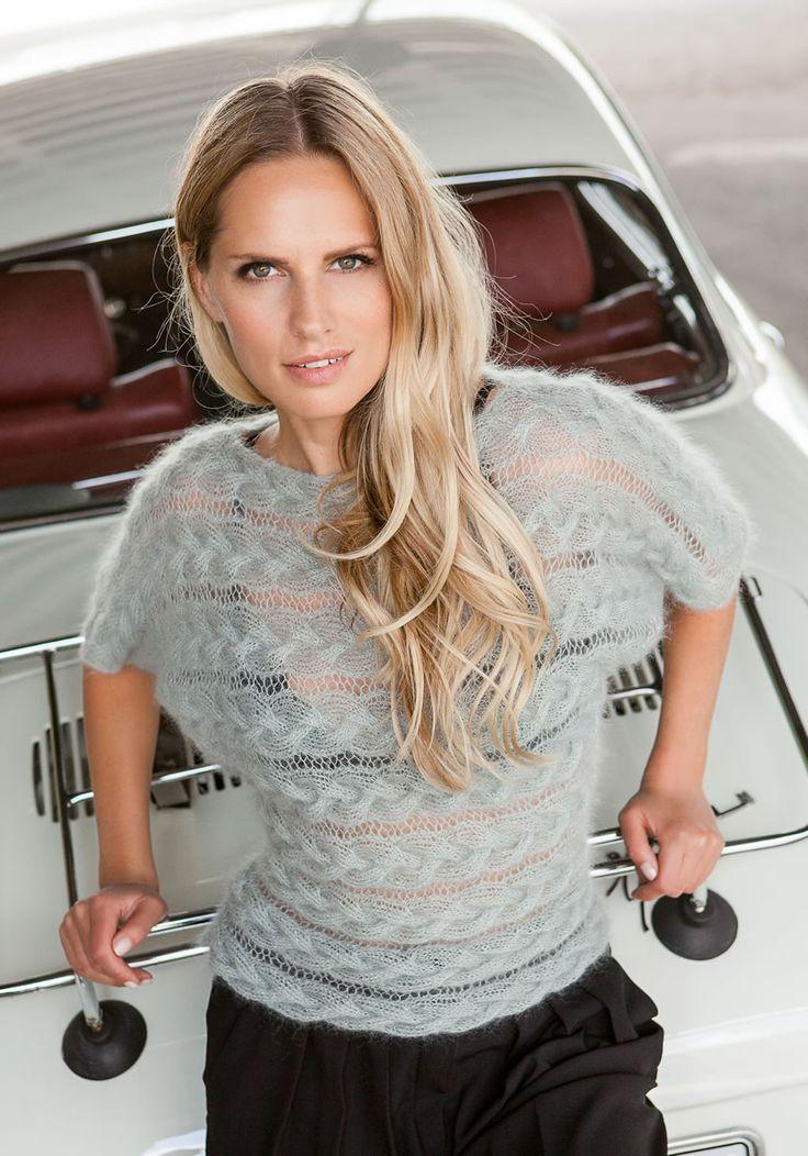 Lana Grossa PULLI Silkhair - FILATI Handstrick No. 61 - Modell 31 | FILATI.cc WebShop