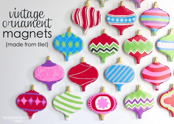 Vintage Ornament Magnets-012