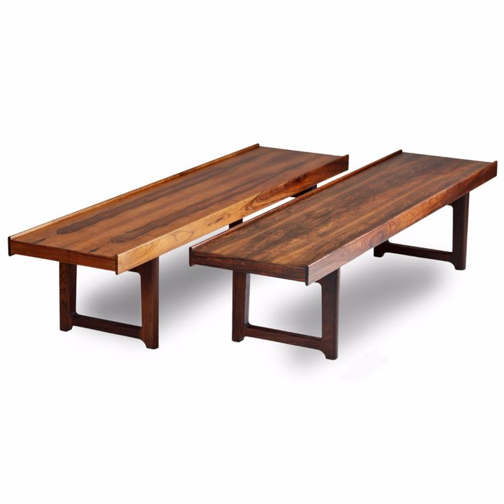 Pair of Krobo Benches in rosewood by Torbjørn Afdal