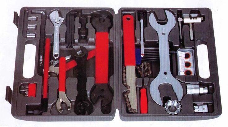 44pcs! Brand New Home Mechanic Bike Bicycle Tool Kit! Thanksgiving Christmas!