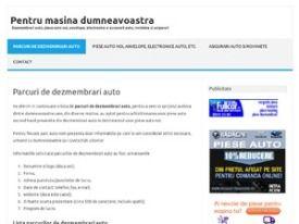 www.dezmembrariauto.pro