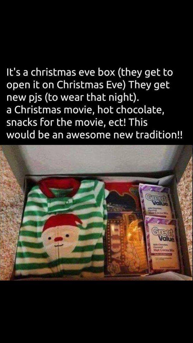 Christmas Eve Tradition