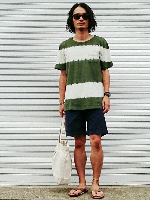 このタイダイTシャツ、なかなかのインパクト 素材もヘンプ×コットンでガーゼっぽくて着心地抜群