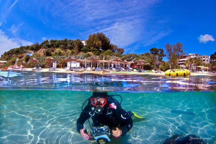 Athos scuba diving center | Underwater Photography by Yiannis Iliopoulos