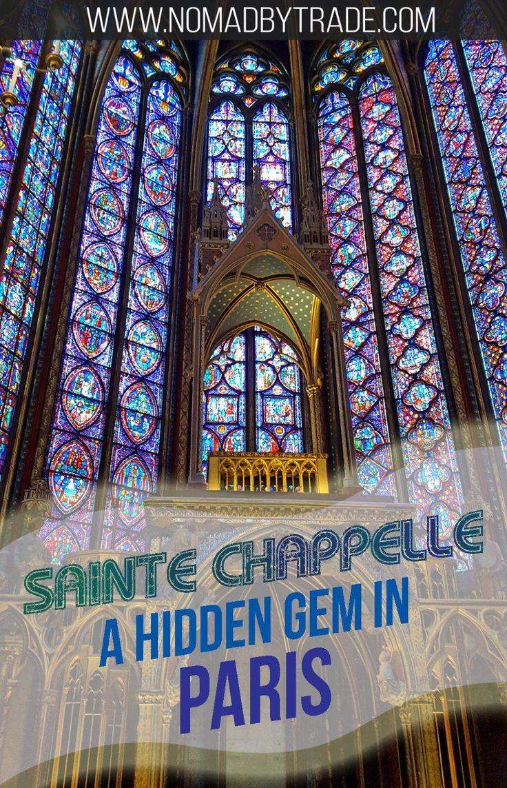 Saint-Chapelle's miracle of light