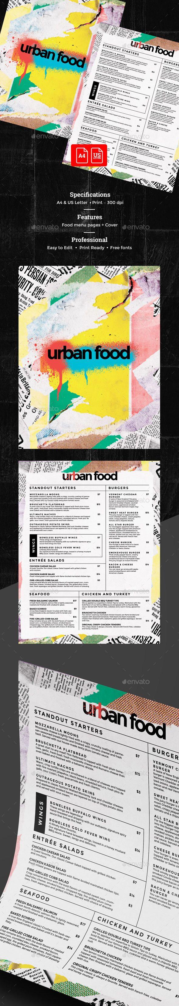 Cafe Menu — Photoshop PSD #template #cafe menu • Available here → https://graphicriver.net/item/cafe-menu/19848282?ref=pxcr