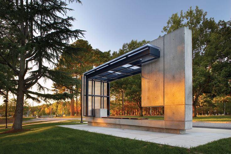 Bus Shelter by Clark Nexsen Archtctr & Spce ! Bus