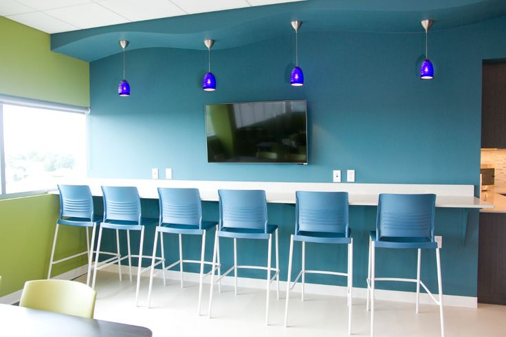 Provide healthy options in centrally located café spaces. Both encourage employees to make better choices. At KI, we define Active Design by offering healthy food options!  #ActiveDesign #StriveCafe