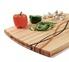 A Unique Cutting Board - Fine Woodworking Article. One day I might be this good at woodworking to be able to do this.