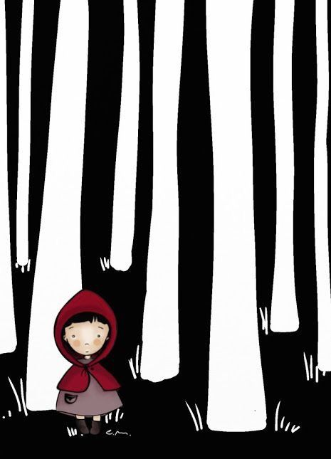 Little Red Riding Hood - by Manuela Lombardo