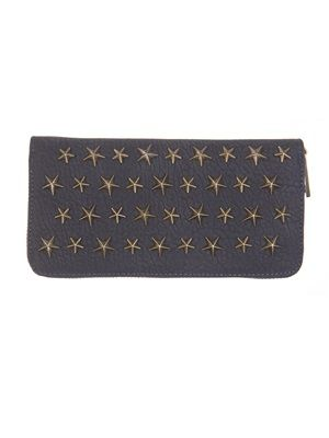 Barfota spring/summer 2014 Wallet with star rivets midnight www.barfota.no