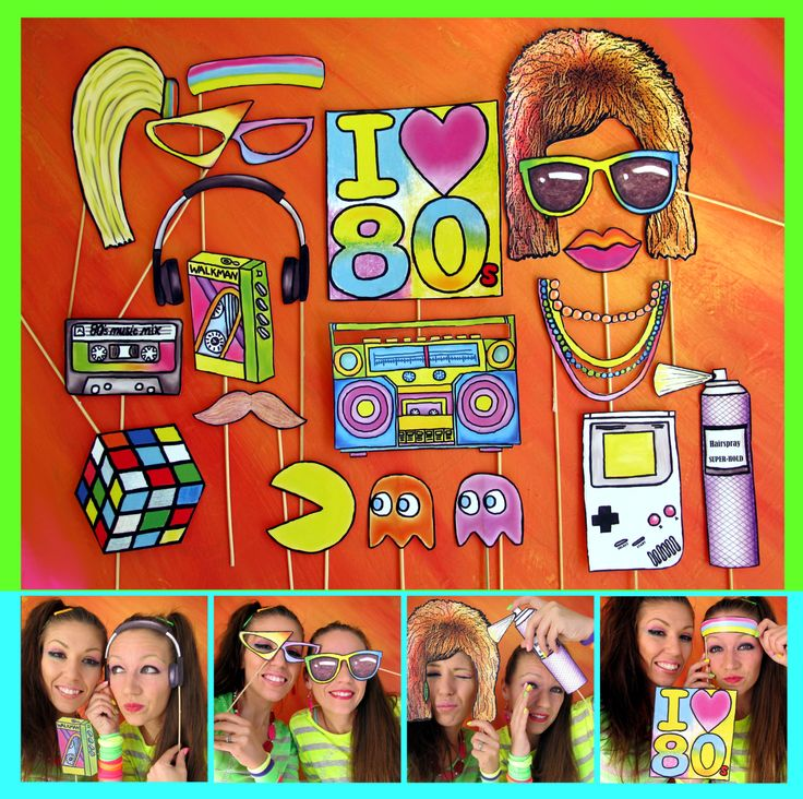 80s Photobooth