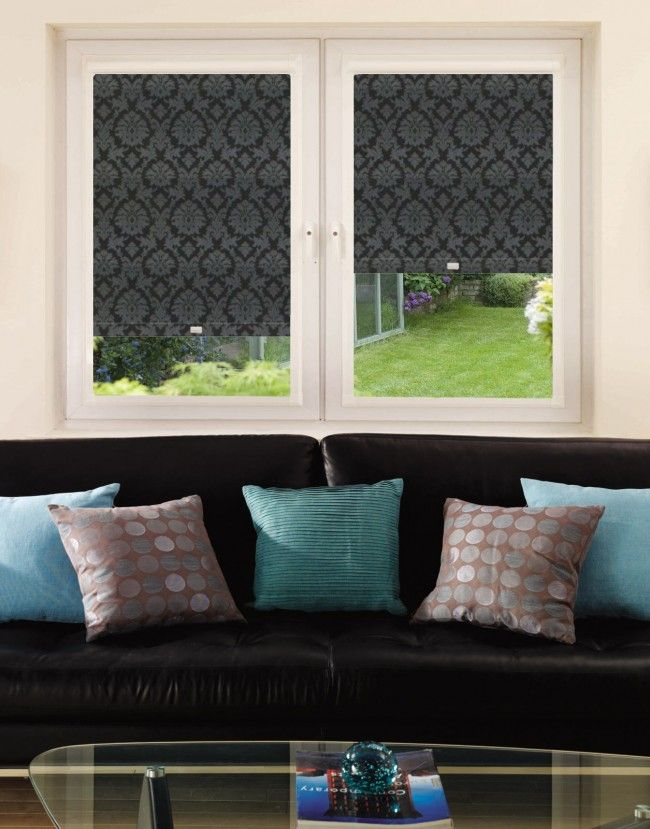 Baroque Raven Perfect Fit Roller Blind - Direct Order Blinds UK
