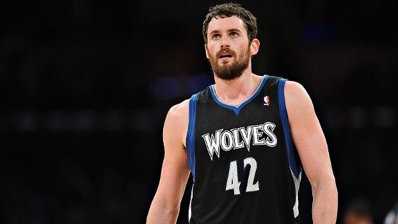 Kevin Love's patience with the Timberwolves must be wearing thin.  Finally a .500 club but they better surround him with some more talent or kiss him good-bye.