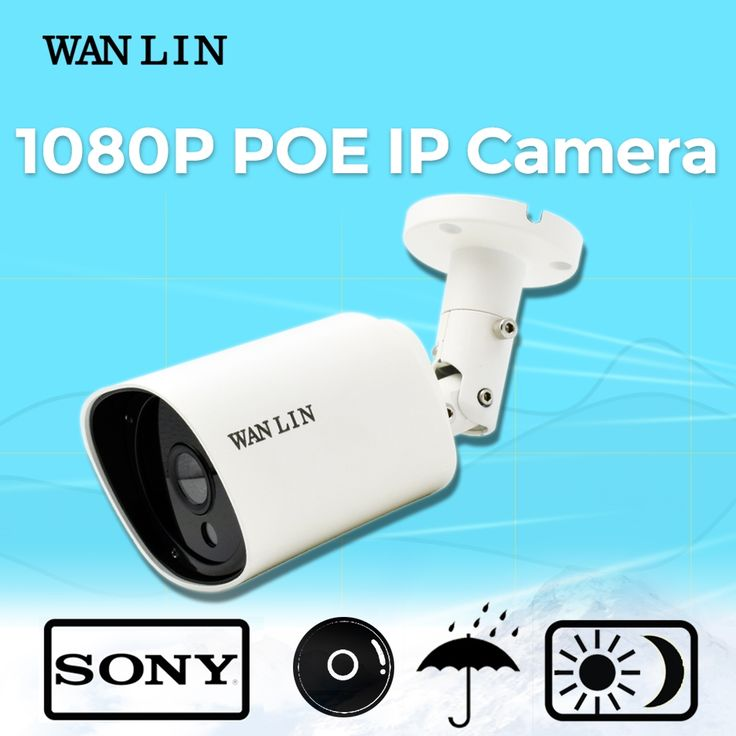 32.99$  Know more - http://ai8ye.worlditems.win/all/product.php?id=32771452849 - WAN LIN 2.0MP Bullet PoE IP Camera SONY 1080P Outdoor Security Video Surveillance Camera ONVIF Waterproof 40M Night Vision P2P