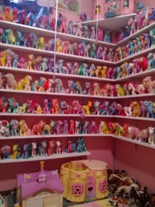 My Little Pony collection.