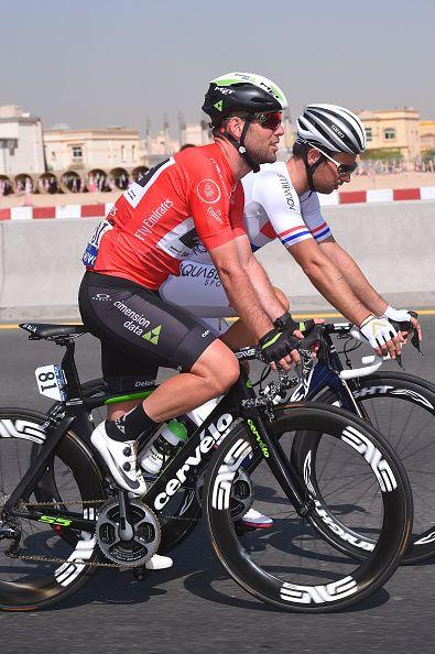 4th Tour Dubai 2017 / Stage 2 Mark CAVENDISH Red Points Jersey/ Adam BLYTHE / DubaiDIMC Ras al Khaimah / Ras al Khaimah Stage / Dubai Tour /