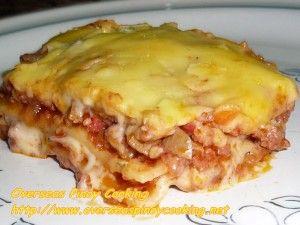 Cheesy Pinoy Lasagna