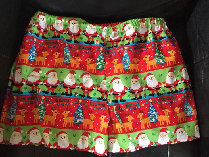 Christmas pj shorts