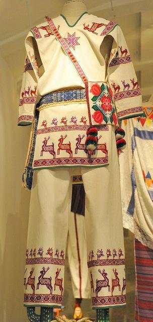 Huichol Clothing Mexico ~ Museo Textil de Oaxaca