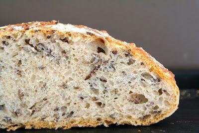Eltefritt bread with wild rice