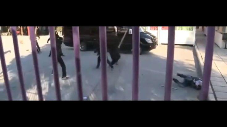 ΩΡΑΙΟΚΑΣΤΡΟ-Άγριο ξύλο από αντιεξουσιαστές σε φασίστα