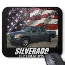 2011 Silverado 1500 Crew Cab LS Cheyenne Edition Mouse Pad