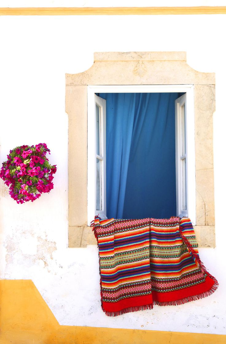 Portugese house with rug by Patricia Hofmeester on 500px