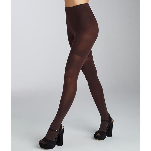 SPANX Luxe Leg Tights ($28) ❤ liked on Polyvore featuring intimates, hosiery, tights, opaque, women, spanx, spanx stockings, high waisted tights, spanx tights and opaque stockings