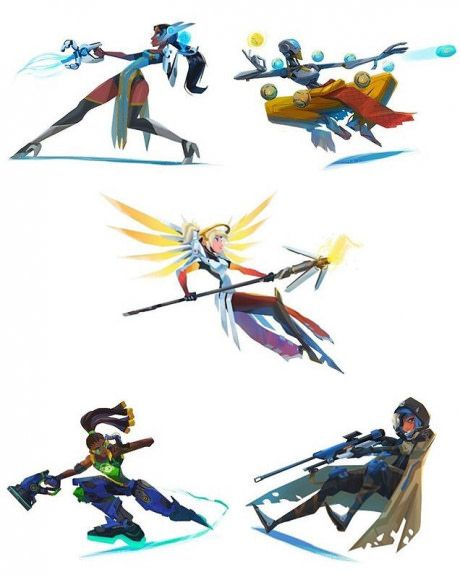 Overwatch Supports