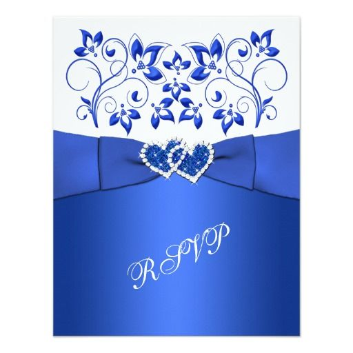 149 best Cobalt Blue Wedding Invitations images on Pinterest ...