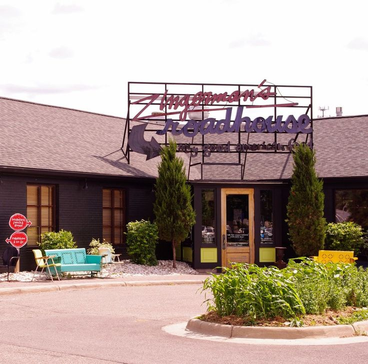 Zinger man's Roadhouse: full-flavored, traditional, regional American foods in a down-to-earth restaurant atmosphere.