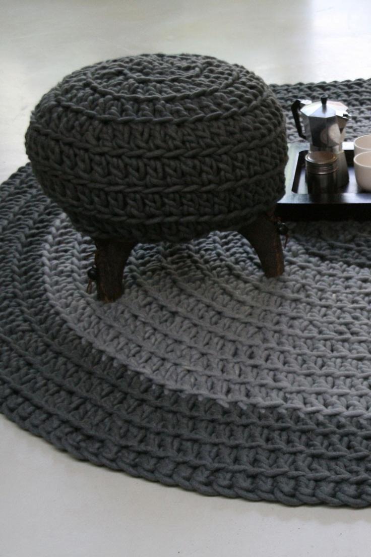 Molitli Interieurmakers – Lifestyle en Design – Home – Rond gehaakt vloerkleed (000462)