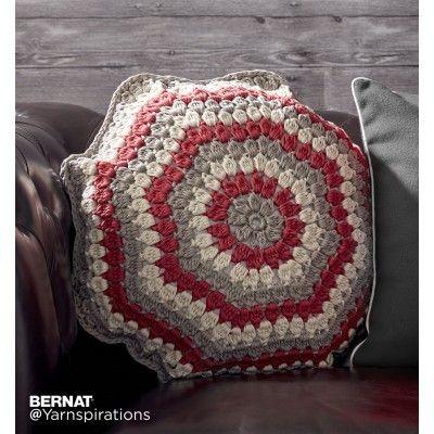 Puffed Up Crochet Pillow Croceht Free Pattern