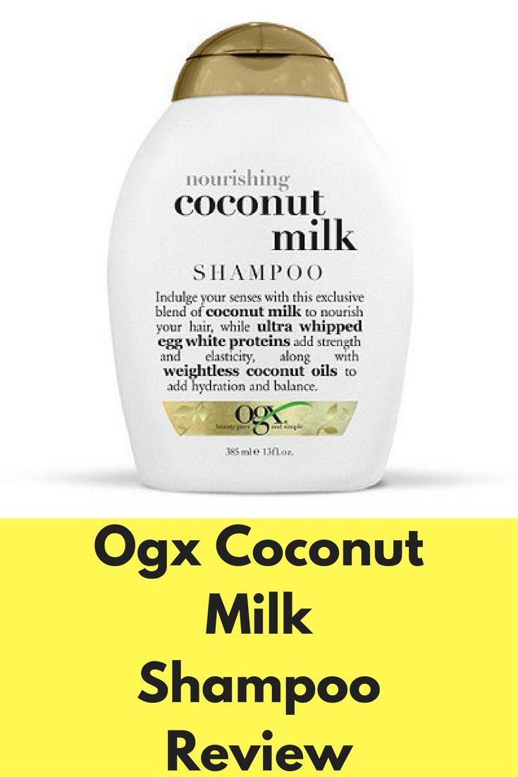 Ogx Coconut Milk Shampoo Review Ogx Coconut Milk Shampoo,product review | How to use it | Pros and cons | User reviews | Pros and cons | Ingredients used...