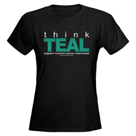 33 best images about all things teal ovarian cancer for Ovarian cancer awareness t shirts