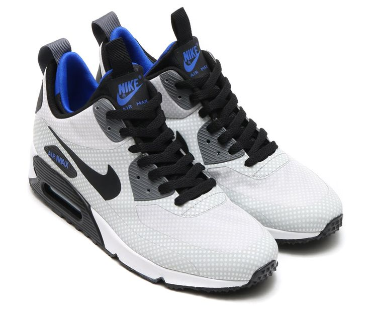 Nike Unisex's Running Shoes Air Max 90 Black / Varsity Royal