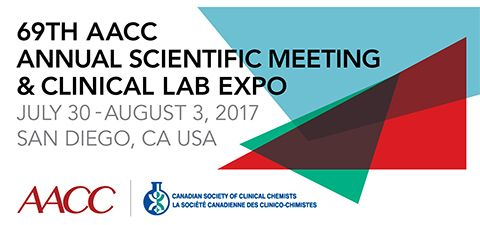 At the 69th AACC Annual Scientific Meeting & Clinical Lab Expo, you'll have the opportunity to connect with global leaders in clinical chemistry, molecular diagnostics, mass spectrometry, translational medicine, lab management, and other areas of breaking science in laboratory medicine. Meet Sartorius at the event in San Diego, CA, USA, on July 30 - August 3, 2017.