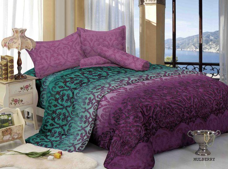 """MULBERY - """"Design abstract yan gmemiliki kombinasi warna yang elegant ini menjadikan kemewahan kamar tidur anda"""""""