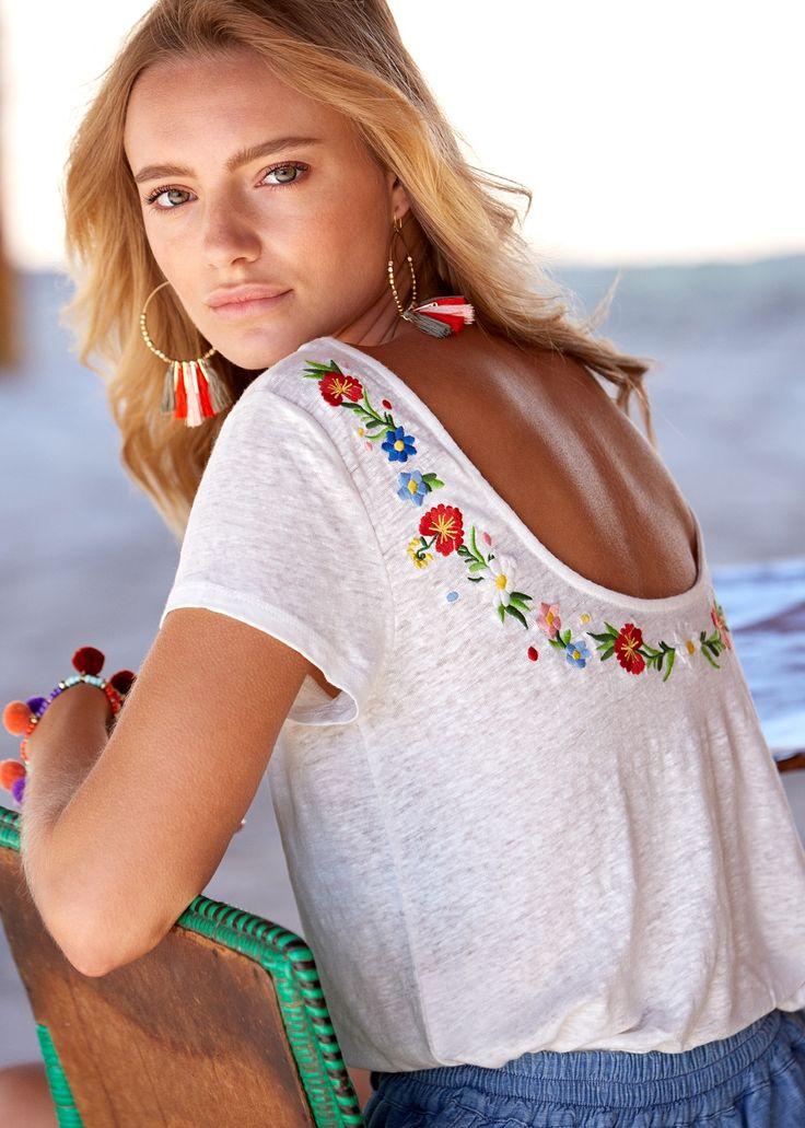 Sézane - T-shirt Solar