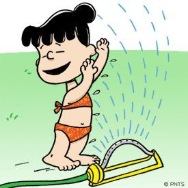 Remember playing in the sprinklers in the front yard?  <3~R~<3