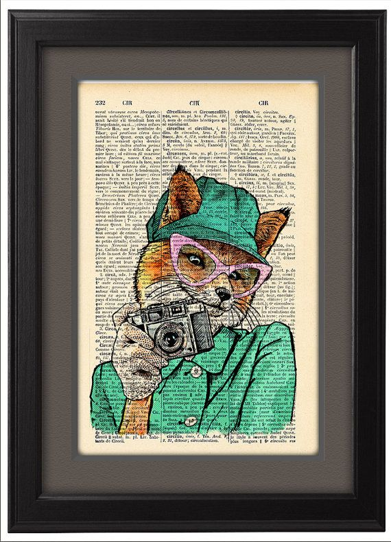 Hey, I found this really awesome Etsy listing at https://www.etsy.com/pt/listing/206575139/fancy-fox-taking-photo-funny-poster