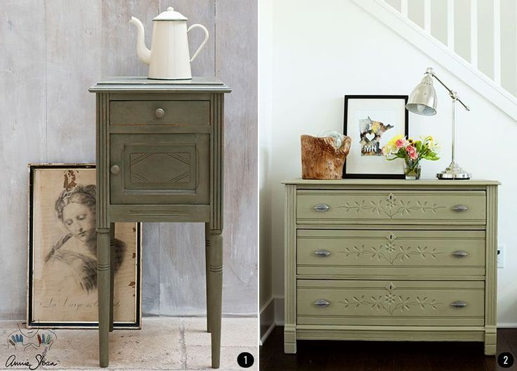 M s de 25 ideas incre bles sobre muebles pintados de verde for Chalk paint muebles ikea