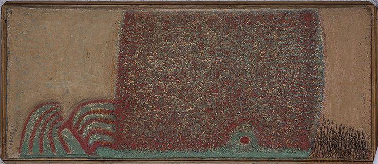 Mariano Cornejo.Sueño de jardín, 1995 Técnica mixta, 50x120x20 cm