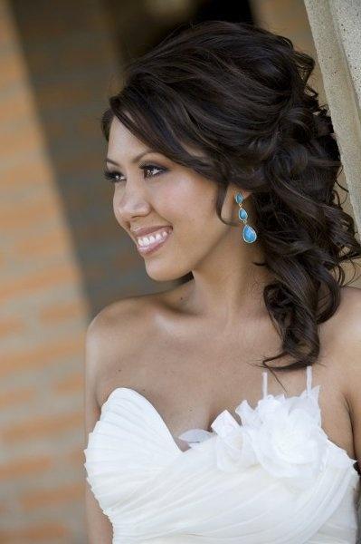 Wedding hair for Mandi! :) Thank you Alicia!! I love it!
