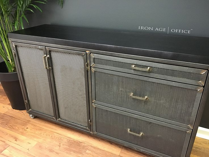 142 best o f f i c e s p a c e images on pinterest for Modern office credenza furniture