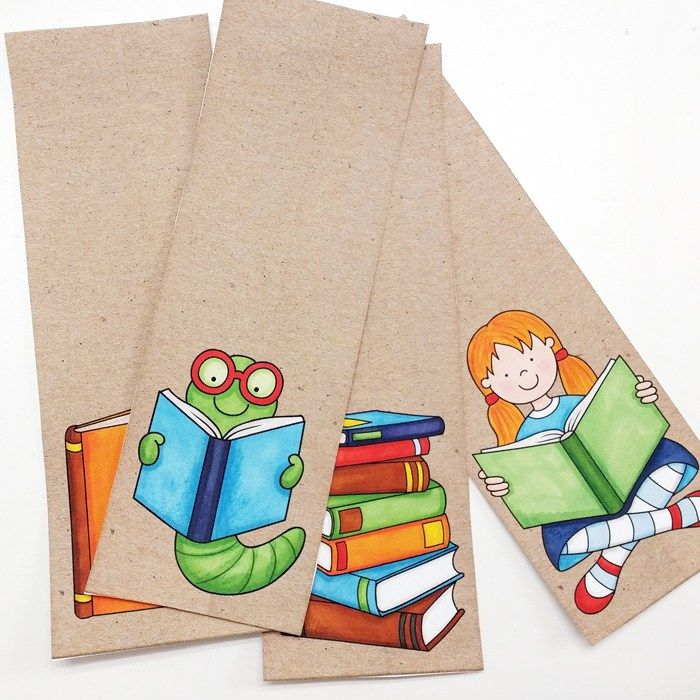 DIY Bookmarks from Kate Hadfield Designs