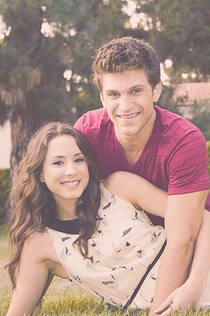 troian bellisario and keegan allen relationship with god