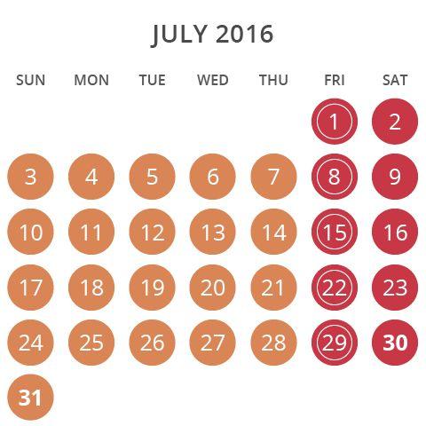 Wet'n'Wild Las Vegas July 2016 Operating Hours