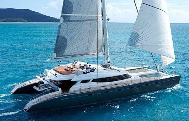 100' performance sailing yacht/catamaran ALLURES
